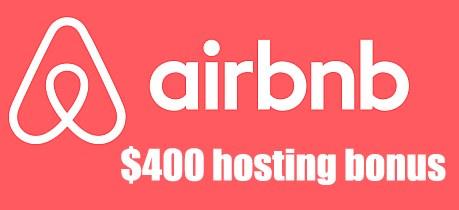 Airbnb 400 dollar host bonus