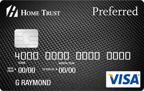 Replace the Amazon Visa with the Home Trust Preferred Visa